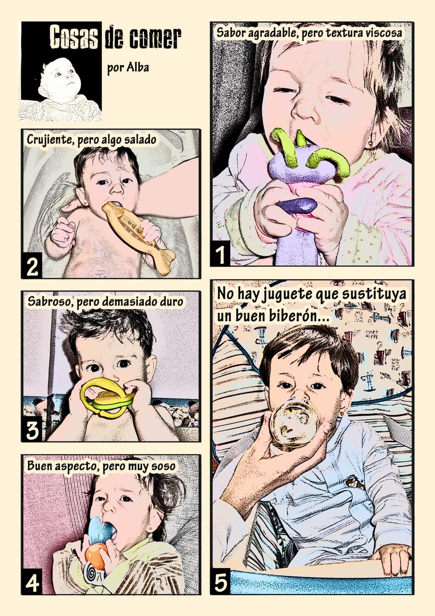 Los comics de Alba
