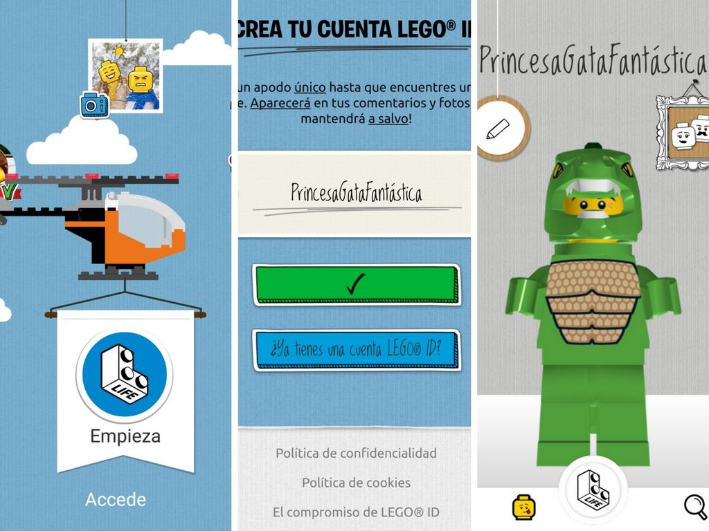 Aplicación LEGO Life