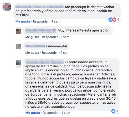 Opiniones de padres y madres