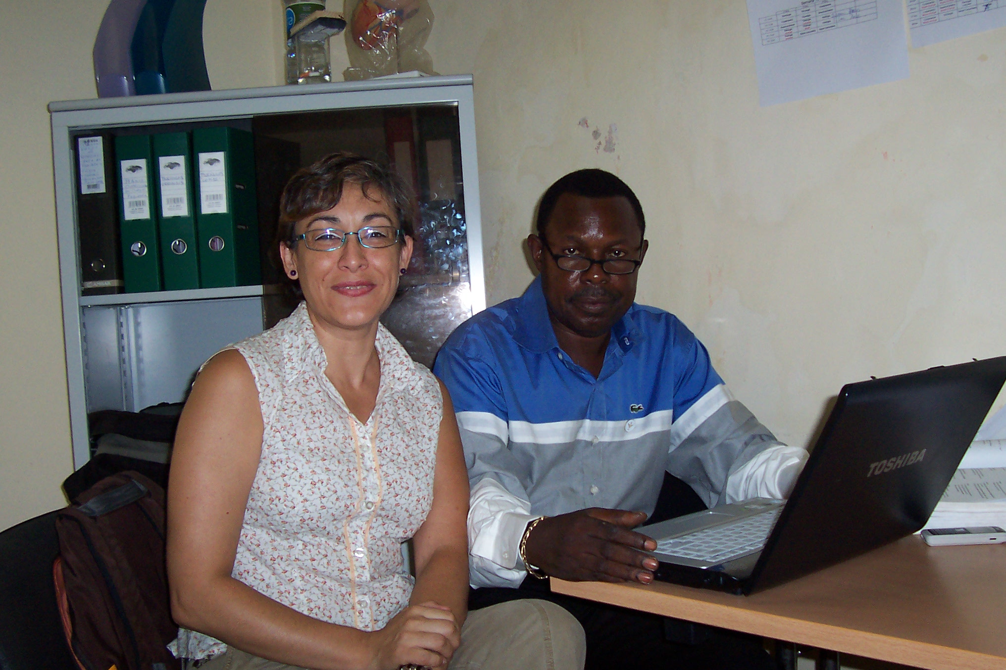 cooperante en Angola