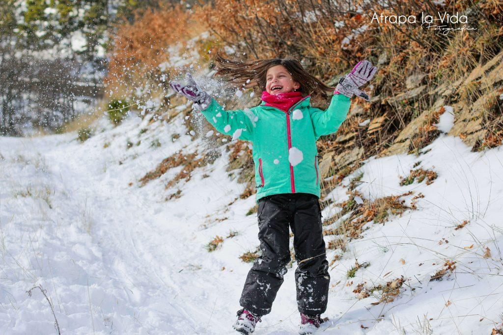 Fotos a niños en movimiento