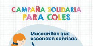 "Campaña solidaria ""Mascarillas que esconden sonrisas"""