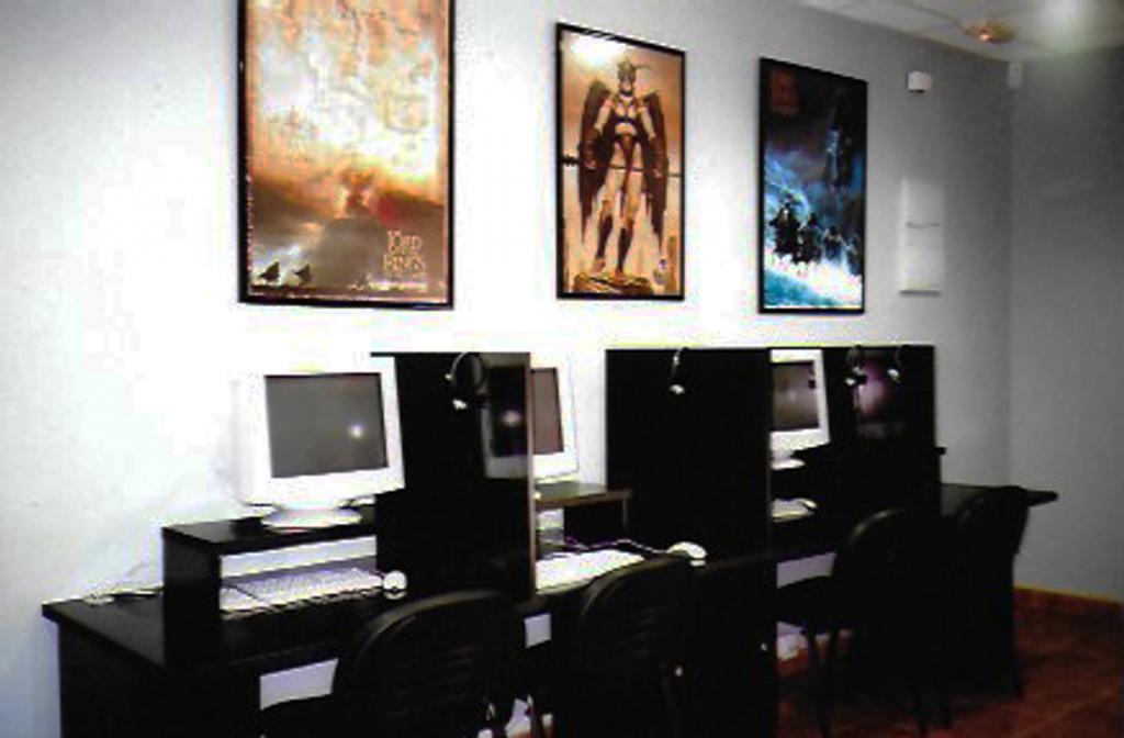 Ciber café The Grey Pilgrim